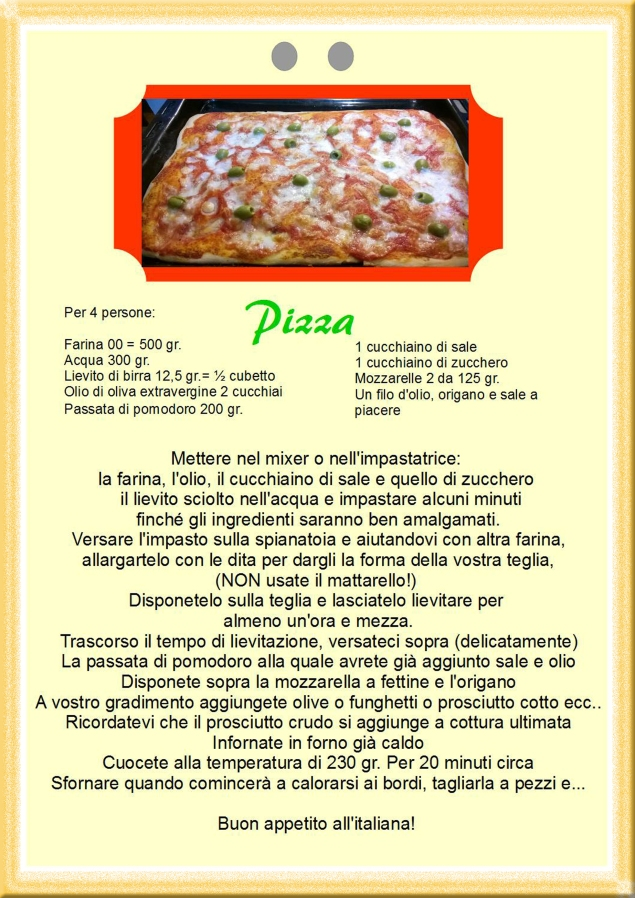 Pizza 3 giallo